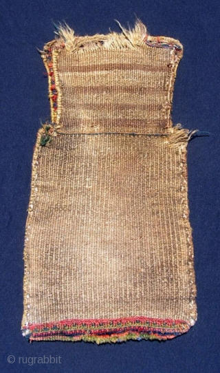 Kurdish (Jaff) salt bag, 13 
