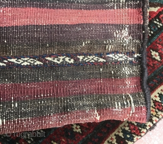 Pretty jaf bag with fresh colors and nice wool . 
