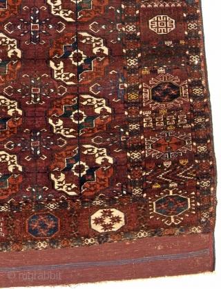 Turkmen Tekke main rug 241x191cm