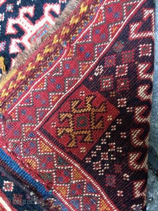 Gshgai knotted bagface 58x57cm