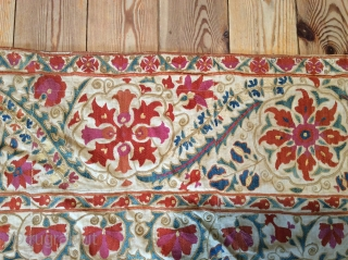 Embroidered Uzbek 1850, 2.37x1.70     SOLD SOLD SOLD