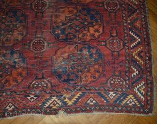 Ersari maincarpet 281 x 251 cm age: ca. 1800