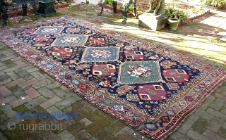 Luri main Carpet-- 5 ft 8 inches x 10 ft 3 inches. Dazzling colors. Thick and very good condition. $35 USPS shipping to  lower 48.