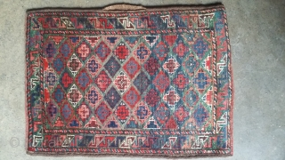 Old baluch balisht with rich colors 77x54