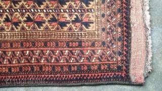 Very old kodani balisht. Size 80x53 cm