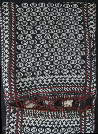 """Luri - Qashqai saddle bag. Size: 17"""" X 34"""" - 44cm x 87cm."""