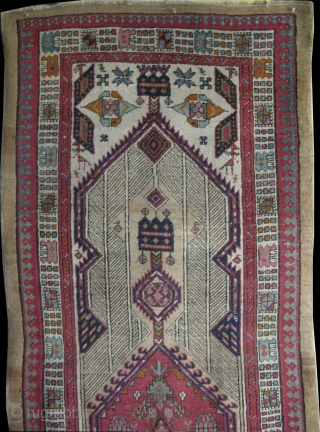 "Serab Runner. In pretty good condition. Size: 37.7"" x 106"" - 96 cm x 270 cm."