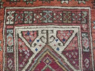 "Anatolian yastik. Size: 21"" x 35"" - 53 cm x 88 cm."