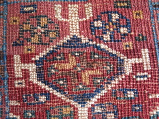 "Qashkai chanteh, Circa 1900 size : 10"" X 10"" - 26 cm X 26 cm"