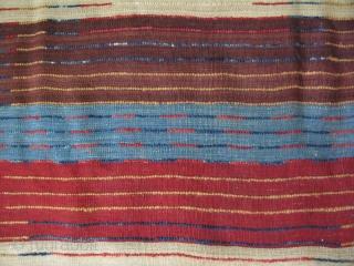 "South Konya Taurus Mountains  tribal woven Tulu. Size: 49"" x 94"" -125 cm x 240 cm."