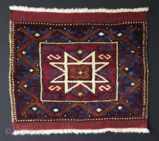 "West Anatolian bagface. Size: 19"" x 16"" - 48 cm x 41 cm."