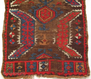 "Konya Yastik. Circa late 19th. century. Size: 22"" x 40"" - 57 cm x 102 cm."