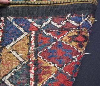 "Large Shahsevan bag face. Size: 31"" x 42"" - 79cm x 107cm."