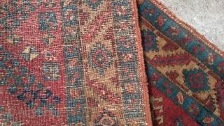 Persian Heriz Serapi Rug  350 cm 90 cm