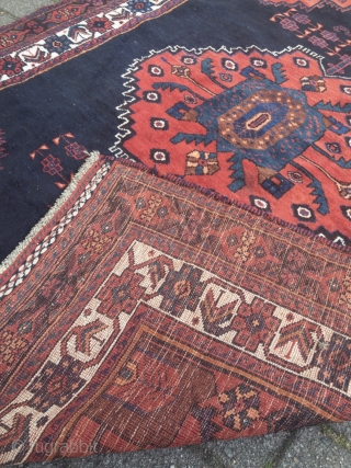 Lovely small antique Afshar rug from Southpersia, size: 147x113cm / 4'8''ft x 3'7''ft