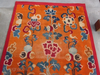 Tibetan ?doorway/?decorative rug for High Lama's room, ?Potala Palace