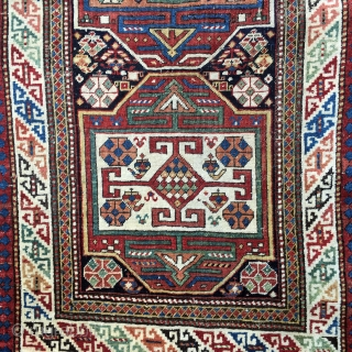 "Shirvan Runner Last Quarter 19 Century: 3'3"" x 8'9""