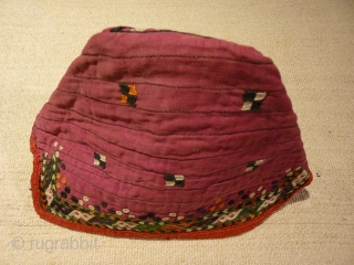 Turcoman child or womans hat.