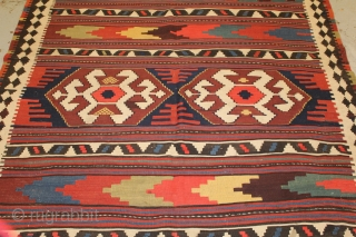 Lovely large Shahsavand killim size 485x175 (circa 1900)