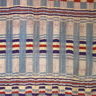 Rda men's ceremonial wrap (fragment?) cod. 0485. One of the items just posted on my website www.nonplusultra.cloud. Silk. Arab or Jewish people. Mahadia area. Tunisia. Early 20th. century. Very good condition. Cm.  ...