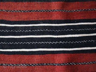 Women' s cape Handira cod. 0731. One of the new pieces just added on my website www.nonplusultra.cloud. Wool  natural dyes. High Atlas mountains – Morocco – Agoudal village – Hait Hdiddou  ...