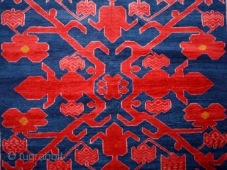 "Pile carpet ""Avar""cod.0456. one of the new items posted on my website www.nonplusultra.cloud.Wool traditional dyes. Kumik ? people. Northern Daghestan region of the Northeast Caucasus Mountain. Early 20th. century. Very good condition  ..."