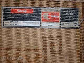 #1C507  Vintage modern German rug 4' x 6.5' (121cm x 198cm) C.1960s