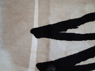 #1C514  Vintage German Modern rug 5.6' x 7.7' ( 171cm x 236cm ) C.1970s