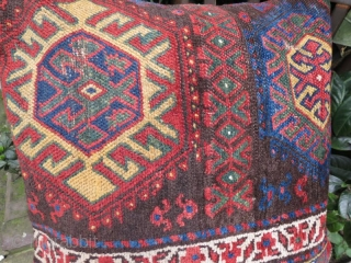 Antique Jaff kurdish pillow , 54 x 54 cm