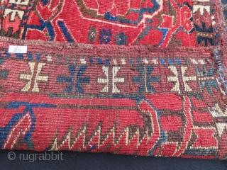 Turkmen Ersari Torba , 110 x 44 cm