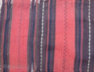 Antique beluch sumak torba , 80 x 44 cm