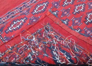 Turkmen Yamut Sumak Chuval,108 x 75 cm