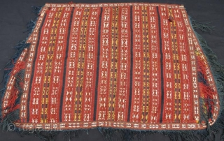 Turkmen Jajim horse cover ,150 x 105 cm