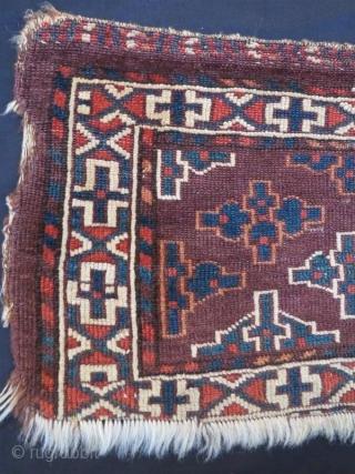 Antique Yamut Torba.67 x 30 cm