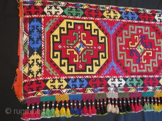 Uzbek lakay mafrash panel 108 x 48 cm