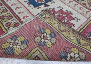 Monastir prayer rug in good condition .146 x 95 cm . www.eymen.com.tr