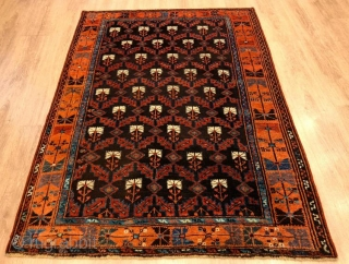 Early anatolian karapinar rug in perfect condition,
