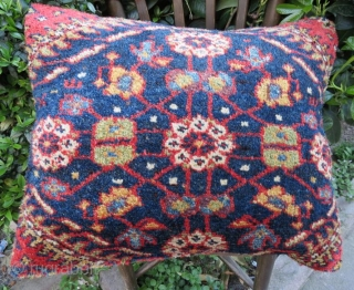Antique a pair of rug pillow ,60 x 45 cm ,