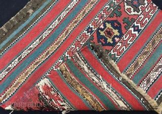 Shasavan mafrash panel good condition .53 x 48 cm