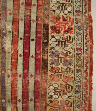 Mid 19th.c. kirshehir prayer rug. 164 x 128cm.
