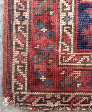 North west persian bag face. Late 19th.c.54 x 58cm. Soft handle, good condition with cotton warps and wool wefts.
