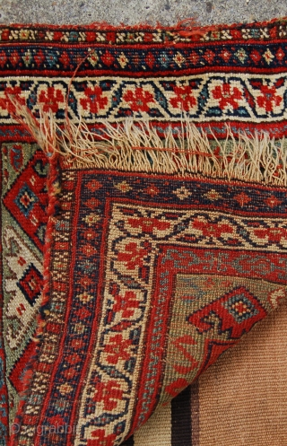 Kurdish bag. Good colours. 19th.c.