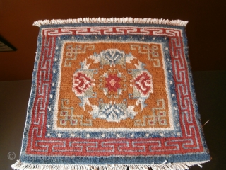 Tibetan rug/mat Size cm.57*60 p.cat