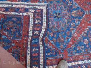 Sumak Caucasian flat weave. Overall good condition P.cat