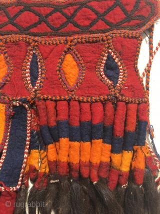 Uzbek camel face, circa 1930, size is 100 x 50 cm