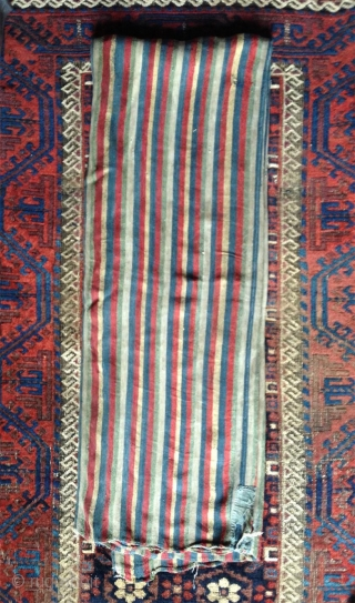 fantastic extremly rare early tibetan nomadic blanket. this is the only piece i know enterely made of silk. i say early because many facts lead to think of an early date prior  ...
