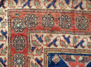 Northwest Persian Kurdish rug > early 19th c. > 6ft x 5ft (reduced)