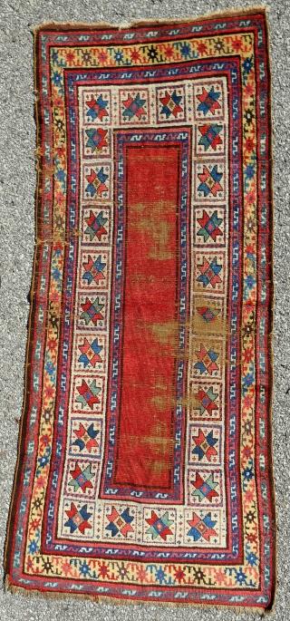 Shahsavan *star* rug > c. 1850