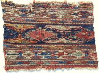 Early 19th C. Shahsavan sumak mafrash panel