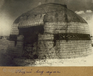 Karakalpak-Uzbekh (?) tent band in complete, perfect condition. more: http://rugrabbit.com/profile/5160